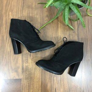 Vince Camuto Womens Lehanna Ankle Bootie Black 7M